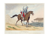 A Noble Tcherkesse, Etched by the Artist, Published 1804 Giclee Print by John Augustus Atkinson