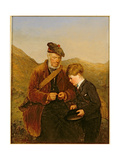 A Willing Pupil, 1878 Giclee Print by Erskine Nicol