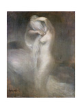 Nude in Profile, C. 1888 Impression giclée par Eugene Carriere