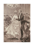 The Squire's Ball, from 'The Illustrated London News', 3rd June 1886 Giclee Print by Richard Caton II Woodville