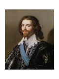 Portrait of George Villiers, 1st Duke of Buckingham (1592-1628) Giclee Print by Gerrit van Honthorst