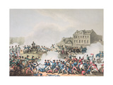 Battle of Leipsic (Leipzig), 19th October, 1813: Etched by I. Clarke, Aquatinted by M. Dubourg Giclee Print by William Heath