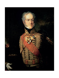 Portrait of Sir Henry William Paget (1768-1854) 2nd Earl of Uxbridge and 1st Marquess of Anglesey Giclee Print by John Prescott Knight