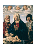 Madonna and Child with Saints Giclee Print by Marco Basaiti