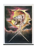 The Ancient of Days, Frontispiece of 'Europe, a Prophecy', C.1821 Giclee Print by William Blake