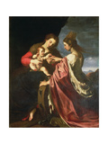 The Mystic Marriage of St. Catherine Giclee Print by Giovanni Mannozzi