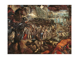 The Capture of Parma, C.1570 Giclee Print by Jacopo Robusti Tintoretto
