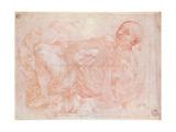 St. Jerome Giclee Print by Jacopo Pontormo