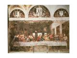 The Last Supper, 1495-97 Giclee Print by Leonardo Da Vinci