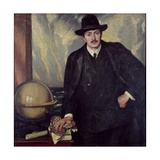 John Masefield (1878-1967), 1909 Giclee Print by William Strang
