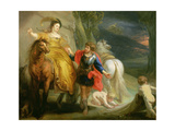 Dido and Aeneas Giclee Print by Theodore van Thulden