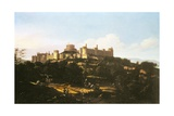A View of Windsor Castle Giclee Print by Jan Wyck