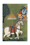 Tenth Incarnation of Vishnu as Kalki: the White Horse Giclee Print