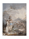 Reflections for the Companions, C.1787 Giclee Print by Philip James De Loutherbourg