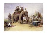Dondiakera, India Giclee Print by Egron Sellif Lundgren