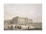 Buckingham Palace, Engraved by Thomas Picken (Fl.1838-D.1870), Pub. 1852 by Lloyd Bros. and Co. Giclee Print by Edmund Walker