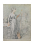 Georgiana, Duchess of Devonshire Giclee Print by Francesco Bartolozzi