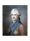 Portrait of Stanislas II Augustus, the Last King of Poland Giclee Print by Marcello Bacciarelli