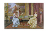 The Recital Giclee Print by Vittorio Reggianini