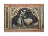 The Stone Cutter, from 'The Working World' Cycle after Giotto, C.1450 Giclee Print by Nicolo & Stefano Da Ferrara Miretto