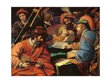 Concert Reproduction procédé giclée par Lionello Spada