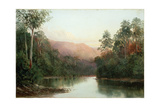 On the Craycroft, Tasmania, 1878 Giclee Print by William Charles Piguenit