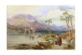 Kilchurn Castle on the Loch Awe Giclee Print by Thomas Miles Richardson