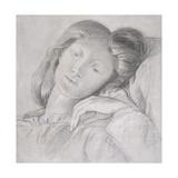 Elizabeth Siddal, C.1860 Giclee Print by Dante Charles Gabriel Rossetti