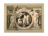 Design for a Relief of the Judgement of Paris Giclee Print by Jean Guillaume Moitte