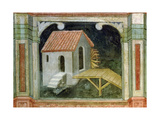 Watermill, from 'The Working World' Cycle after Giotto, C.1450 Giclee Print by Nicolo & Stefano Da Ferrara Miretto