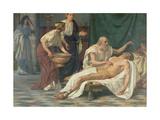 St. Sebastian Giclee Print by Giuseppe Sciuti