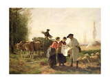 The Foundling, 1881 Giclee Print by Hubert Salentin