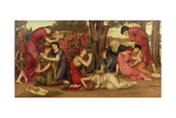 By the Waters of Babylon, 1882-83 Giclee Print by Evelyn De Morgan
