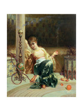 Dreams Giclee Print by Edouard Frederic Wilhelm Richter