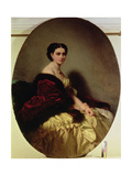 Portrait of the Countess Sophie Naryshkina (1823-77) 1858 Giclee Print by Franz Xaver Winterhalter