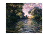 Morning on the Seine, 1897 Impressão giclée por Claude Monet