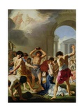 The Martyrdom of St. Stephen, C.1623 Giclee Print by Jacques Stella