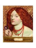 Regina Cordium, 1860 Giclee Print by Dante Gabriel Rossetti