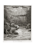 The Creation of Fish and Birds, from Paradise Lost by John Milton (1608-74) Engraved by Collon… Giclee Print by Gustave Doré
