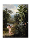Cupid Inspiring the Plants with Love, Painted for Robert Thornton's Book 'New Illustration of the… Giclee Print by Philip Reinagle