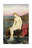 The Little Sea Maid Giclee Print by Evelyn De Morgan
