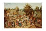 The Return from the Kermesse Giclée-Druck von Pieter Brueghel the Younger