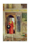 Entrance to the Harem, 1871 Giclee Print by John Frederick Lewis