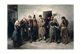 The Condemned, 1879 Giclee Print by Vladimir Egorovic Makovsky
