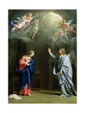 The Annunciation, 1644 Giclee Print by Philippe De Champaigne