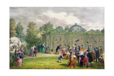 The Monkey House at the Zoological Gardens, Regent's Park, Engraved and Pub. by the Artist,… Giclee Print by George The Elder Scharf