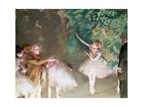 Ballet Practice, 1875 Giclee Print by Edgar Degas