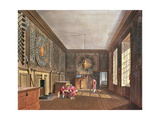 The Guard Chamber, St. James' Palace from Pyne's 'Royal Residences', 1818 Giclee Print by William Henry Pyne