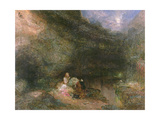 Scene from the Tempest Giclee Print by Alfred Woolmer