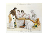 Too Much Choice, Plate 44 from 'Le Bon Genre', 1827 Giclee Print